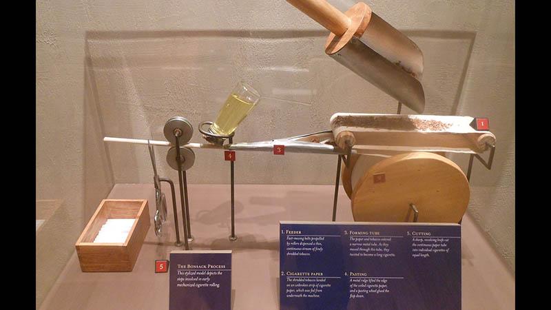 miniatur - mesin bonsack