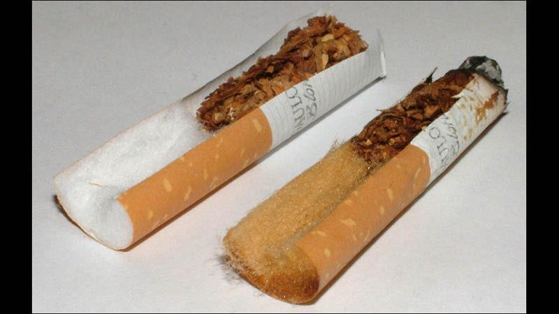 asal usul rokok - filter