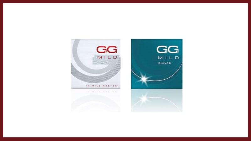 Produk Rokok Gudang Garam - GG MIld & GG Mild Shiver