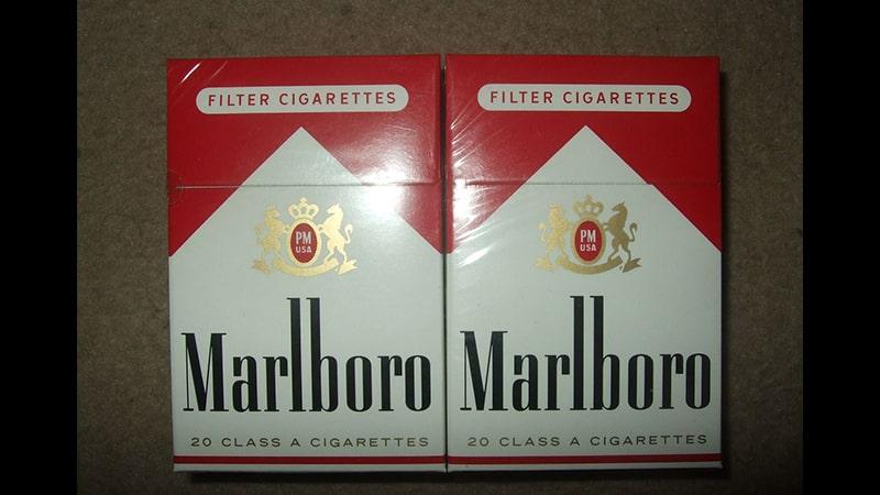 bungkus sigaret - marlboro