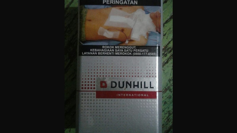 Jenis Rokok Dunhill - Dunhill International Merah