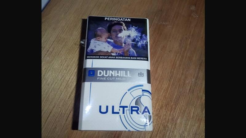 Jenis Rokok Dunhill - Dunhill Fine Cut Mild Ultra
