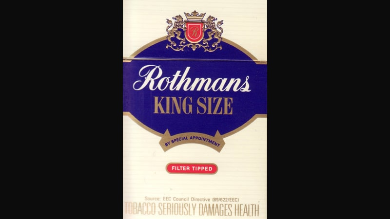 Produk Sigaret BAT - Rothmans