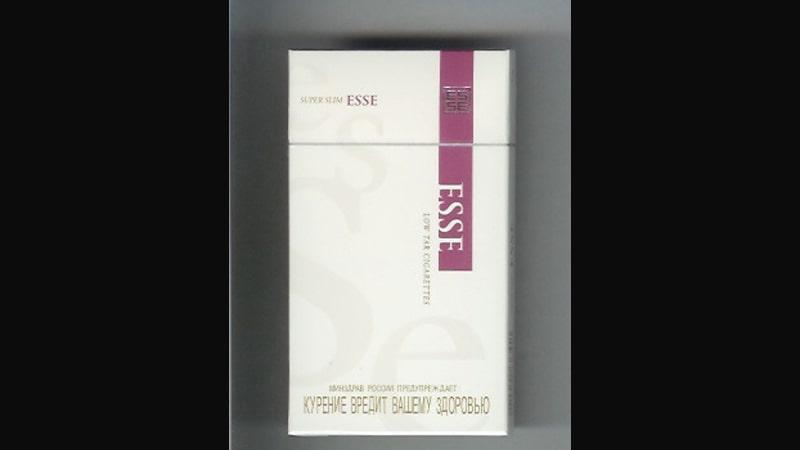 Sejarah Rokok Esse - Esse