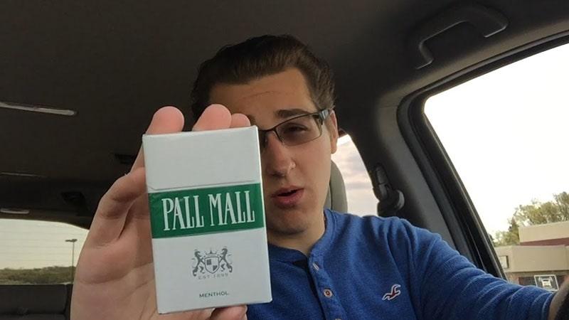 rokok pall mall - white