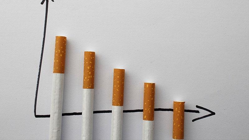 cara berhenti merokok - grafik