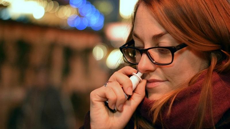 Terapi Pengganti Nikotin - Nicotine Nasal Spray