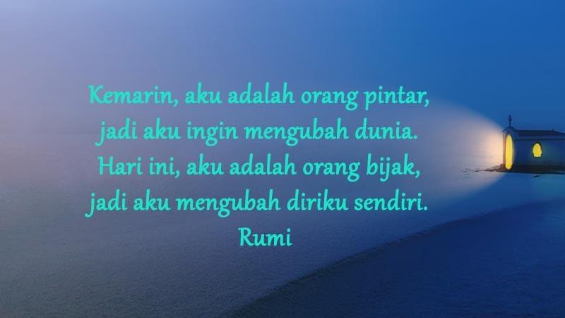 Gambar Kata-Kata Keren - Rumi