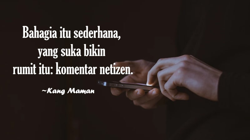 Motto Hidup Singkat Bermakna - Kang Maman