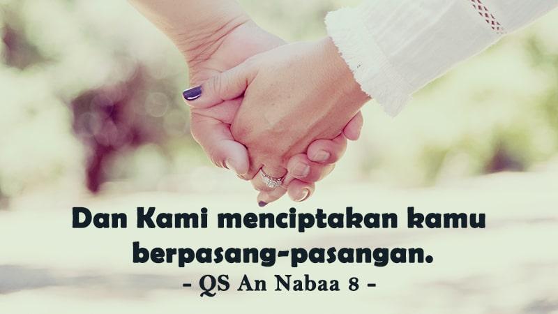 Kata-Kata Bijak tentang Cinta - QS An Nabaa: 8