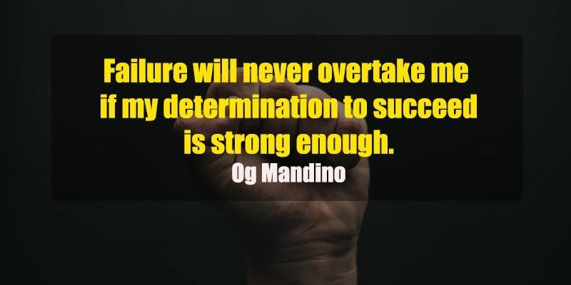 Kata-Kata Motivasi Bahasa Inggris - Og Mandino