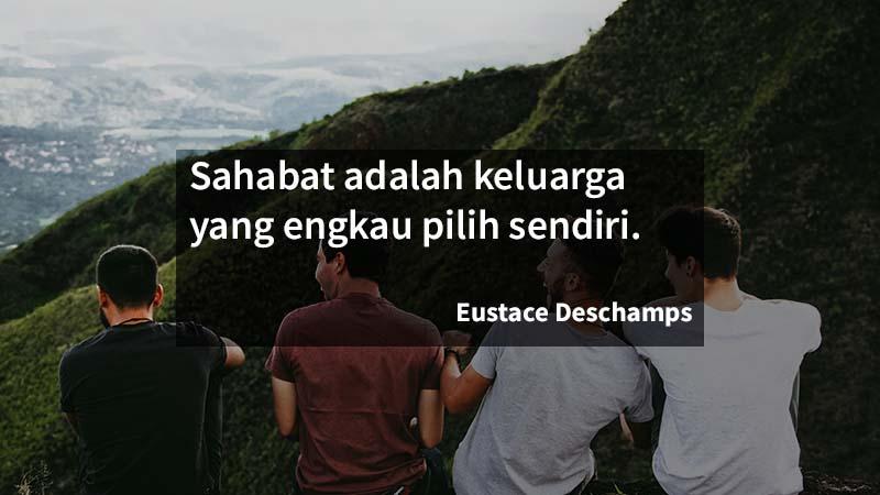 caption persahabatan - deschamps