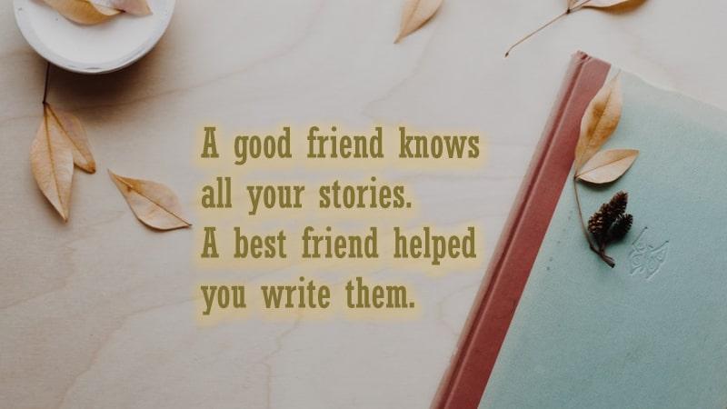 Kata-Kata untuk Sahabat - Good Friend