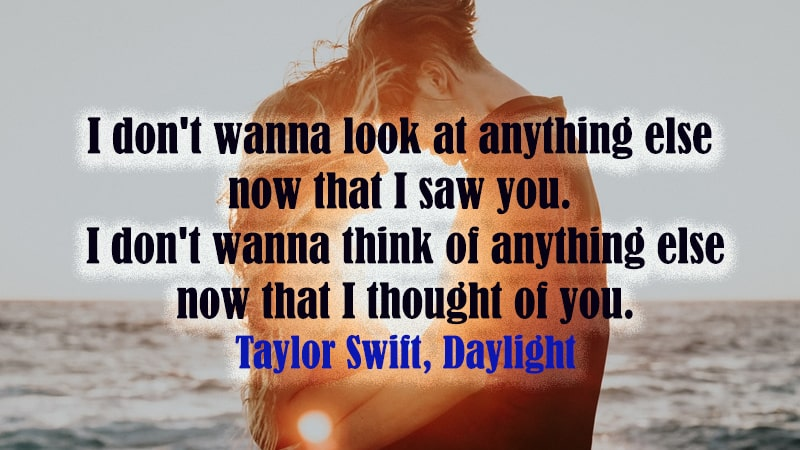 Caption Instagram Bahasa Inggris - Taylor Swift