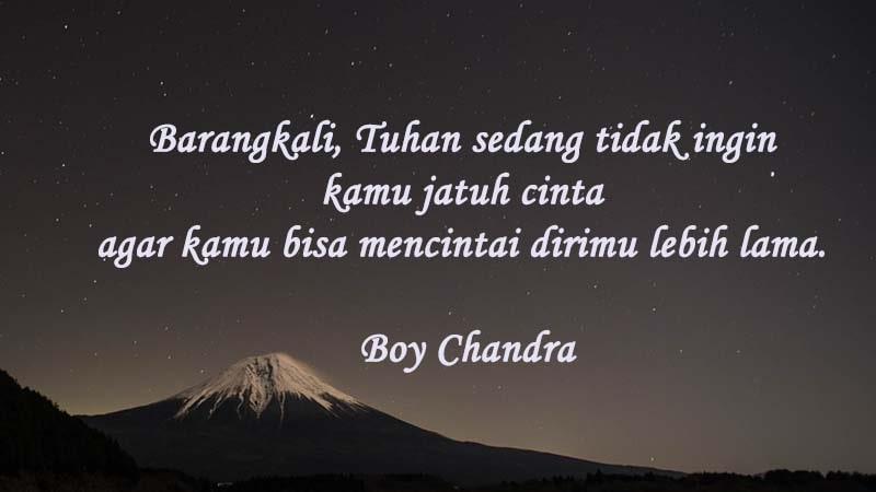 Kutipan Boy Chandra