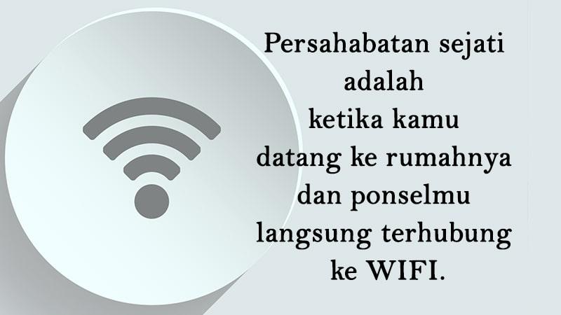 Kata-Kata Persahabatan Lucu - Anonim WIFI