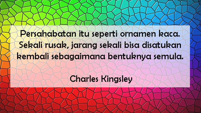 Kata-Kata Bijak dalam Hubungan - Charles Kingsley