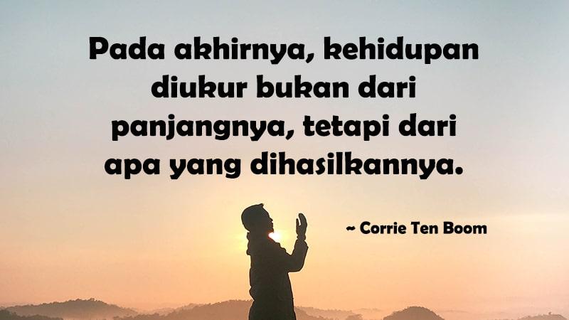 Kata-Kata Motivasi Sukses - Corrie Ten Boom