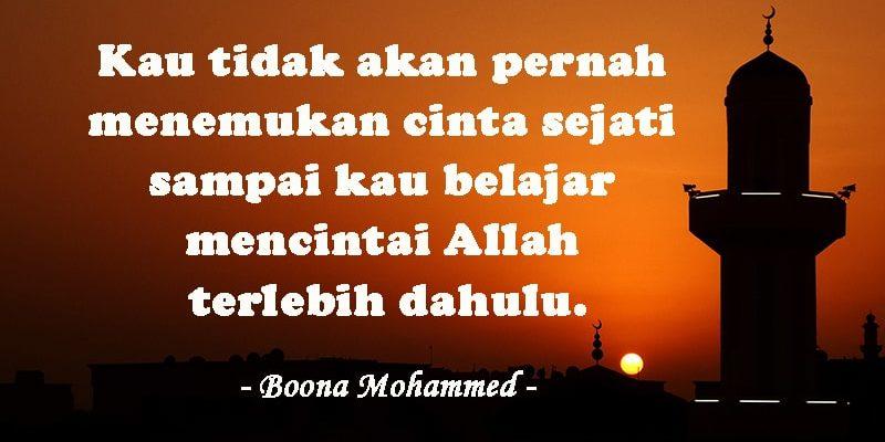 Kata-Kata Mutiara CInta Islami - Boona Mohammed